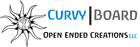 Curvy Board - Open Ended Creations LLC